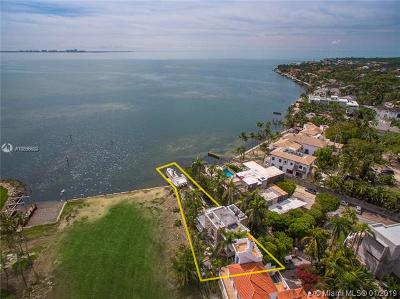 Coconut Grove Single Family Home For Sale: 3523 N Bay Homes