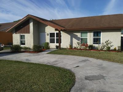 North Lauderdale Single Family Home For Sale: 1228 SW 75th Ave
