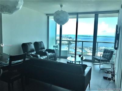 Marina Blue, Marina Blue Condo, Marina Blue Condominium, Marinablue, Marinablue Condo Rental For Rent: 888 Biscayne Blvd #3406