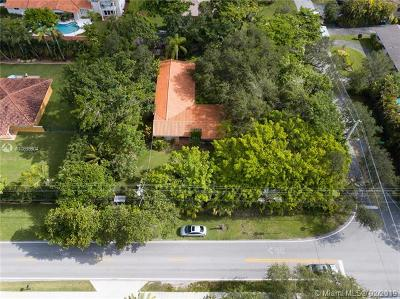 South Miami Single Family Home For Sale: 5907 SW 80th St