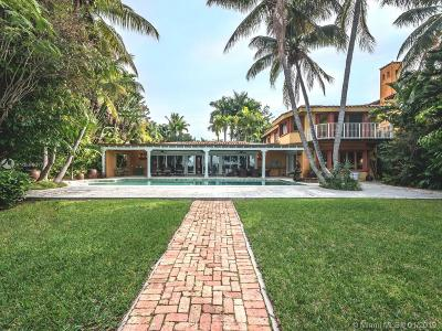 Key Biscayne FL Single Family Home For Sale: $11,850,000
