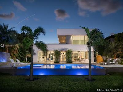Miami Beach FL Single Family Home For Sale: $10,900,000