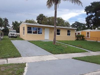 West Palm Beach Single Family Home For Sale: 1365 11 St
