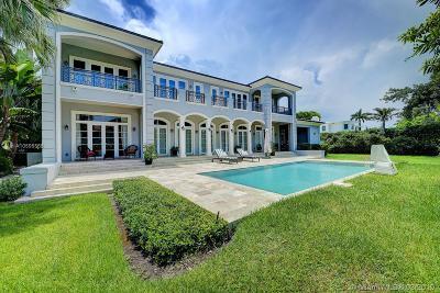Miami Beach Single Family Home For Sale: 5423 North Bay Road