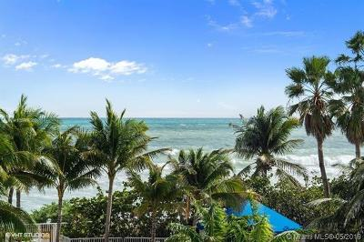 Hollywood Condo For Sale: 6051 N Ocean Dr #302