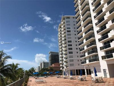 Miami Beach Condo For Sale: 6039 Collins Ave #412