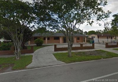 Miami Gardens Single Family Home For Sale: 19821 NW 52 Avenue