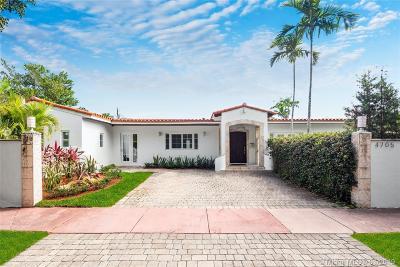 Miami Beach Single Family Home For Sale: 4705 N Michigan Ave