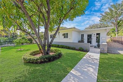 Miami Shores Single Family Home For Sale: 10642 NE 10th Pl