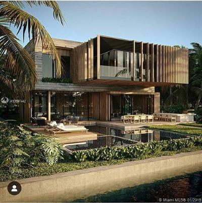 Miami Beach Single Family Home For Sale: 244 W Rivo Alto Dr