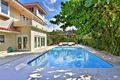 Key Biscayne Single Family Home For Sale: 370 Harbor Lane