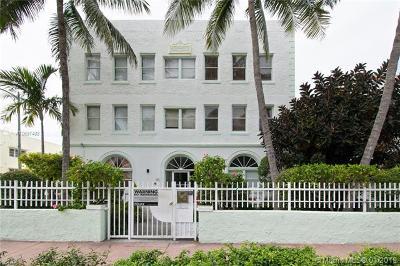 Miami Beach Condo For Sale: 802 Euclid Ave #304