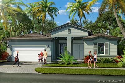 Homestead Single Family Home For Sale: 1905 NE 1 Street