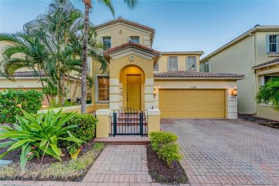 Aventura Single Family Home Active With Contract: 21219 NE 33rd Ave