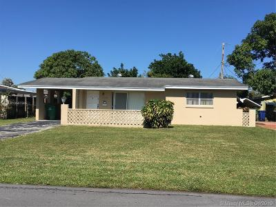 Miramar FL Single Family Home For Sale: $215,500