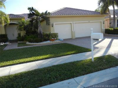 Pembroke Pines Single Family Home For Sale: 18480 SW 7th St