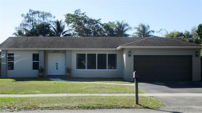 Cooper City Single Family Home For Sale: 5205 SW 87th Ter