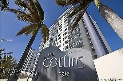 Miami Beach Condo For Sale: 6917 Collins Ave #1422