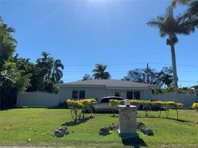 Florida City Single Family Home Active With Contract: 665 SW 5th St