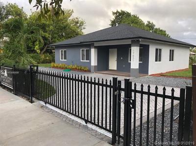 North Miami Beach Single Family Home For Sale: 17631 NE 2nd Ct
