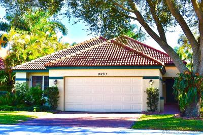 Davie Single Family Home Active With Contract: 9450 Oak Grove Circle