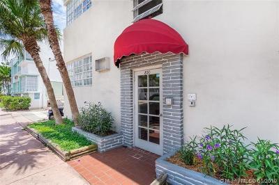 Miami Beach Condo For Sale: 830 10th St #1