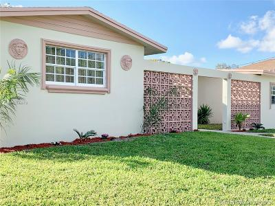 Miami Gardens Single Family Home For Sale: 17120 NW 17th Ct