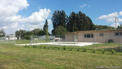 Homestead Single Family Home For Sale: 28201 SW 195th Ave