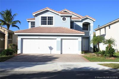 Miramar Single Family Home Active With Contract: 2532 SW 156th Ave