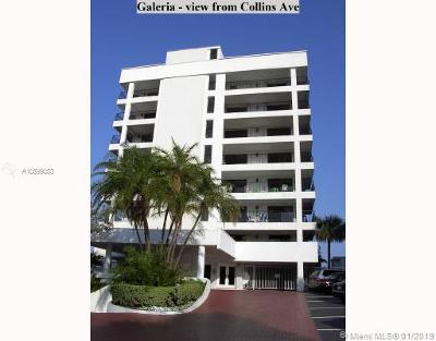Miami Beach Condo For Sale: 5415 Collins Av #304