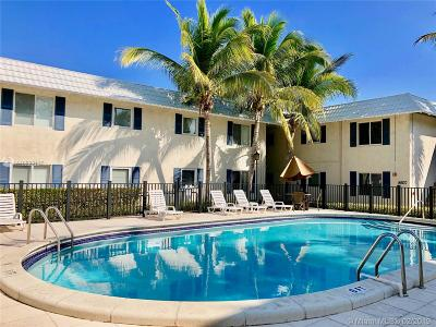 Pinecrest Condo Active With Contract: 8611 SW 68th Ct #23