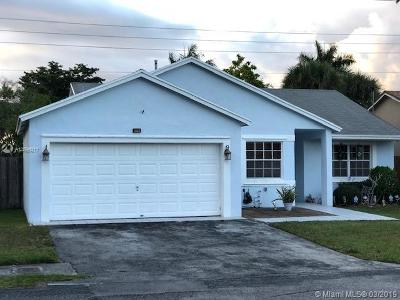 Single Family Home For Sale: 13530 SW 116 Pl