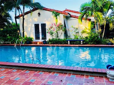 Miami Shores Single Family Home For Sale: 10301 N Miami Ave