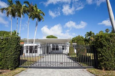Miami Beach Single Family Home For Sale: 1525 Calais Dr