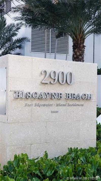 Biscayne Beach, Biscayne Beach Club, Biscayne Beach Condo, Biscayne Beach Club Condo, Biscayne Beach Residences Rental For Rent: 2900 NE 7 Ave #1709