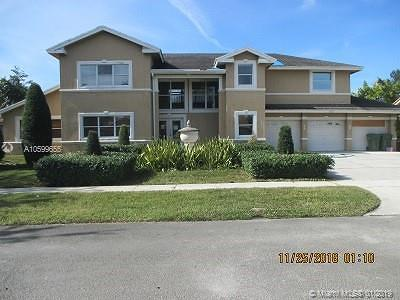 Pembroke Pines Single Family Home Active With Contract: 410 NW 203rd Ave