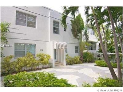Miami Beach Condo For Sale: 928 Jefferson Ave #8