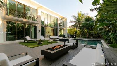 Miami Beach Single Family Home For Sale: 4322 Nautilus Dr