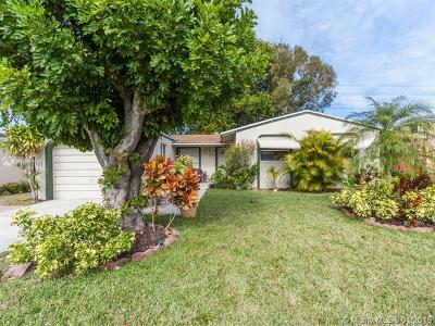 Margate Single Family Home For Sale: 7491 SW 1st St