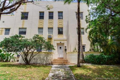 Miami Beach Condo For Sale: 2463 Pine Tree Dr #3