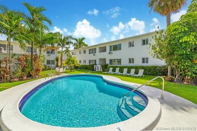 Fort Lauderdale Condo For Sale: 624 Antioch Ave #5