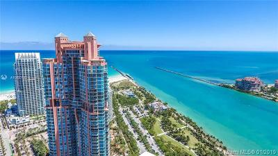 Portofino Tower, Portofino Tower Condo, Portofino Towers Rental For Rent: 300 S Pointe Dr #904