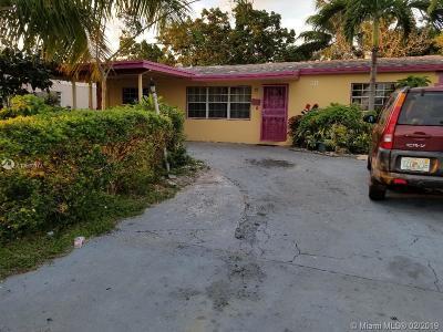Pompano Beach Single Family Home Active With Contract: 211 NE 25th Ct