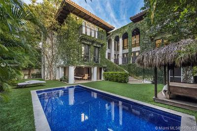 Key Biscayne Single Family Home For Sale: 341 Palmwood Ln