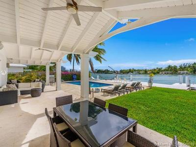 Miami Beach Single Family Home For Sale: 1350 S Biscayne Point Rd