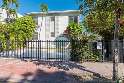 Miami Beach Condo For Sale: 823 Jefferson Ave #8