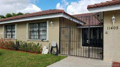 Kendall Rental For Rent: 11405 SW 112 Ter