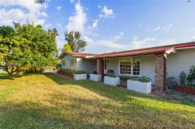 Single Family Home For Sale: 16700 SW 51st Ct