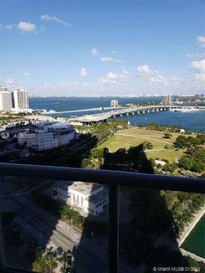Marina Blue, Marina Blue Condo, Marina Blue Condominium, Marinablue, Marinablue Condo Rental For Rent: 888 Biscayne Blvd #4210