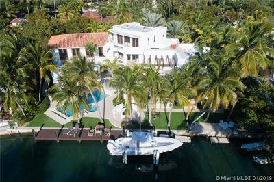 Key Biscayne Single Family Home For Sale: 100 Island Dr